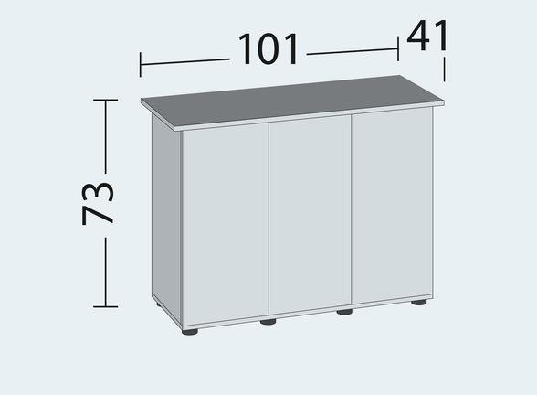 misura tavolo RIO 180