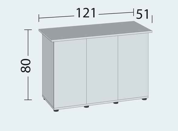 misura tavolo RIO 350